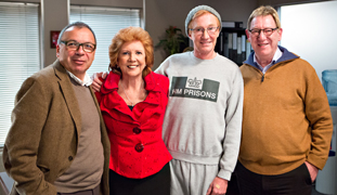 Marks and Gran with Cilla Black